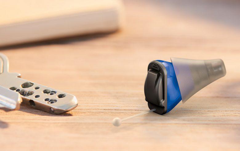 最小巧的、最自然的、可立即配戴的耳内机