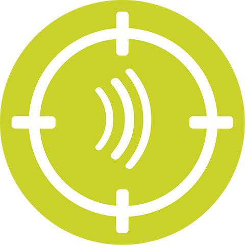 声音清晰度,为您在所有环境中提供自然清晰的声音。让您在非常吵闹的环境中也能享受到十分清晰的说话声音。