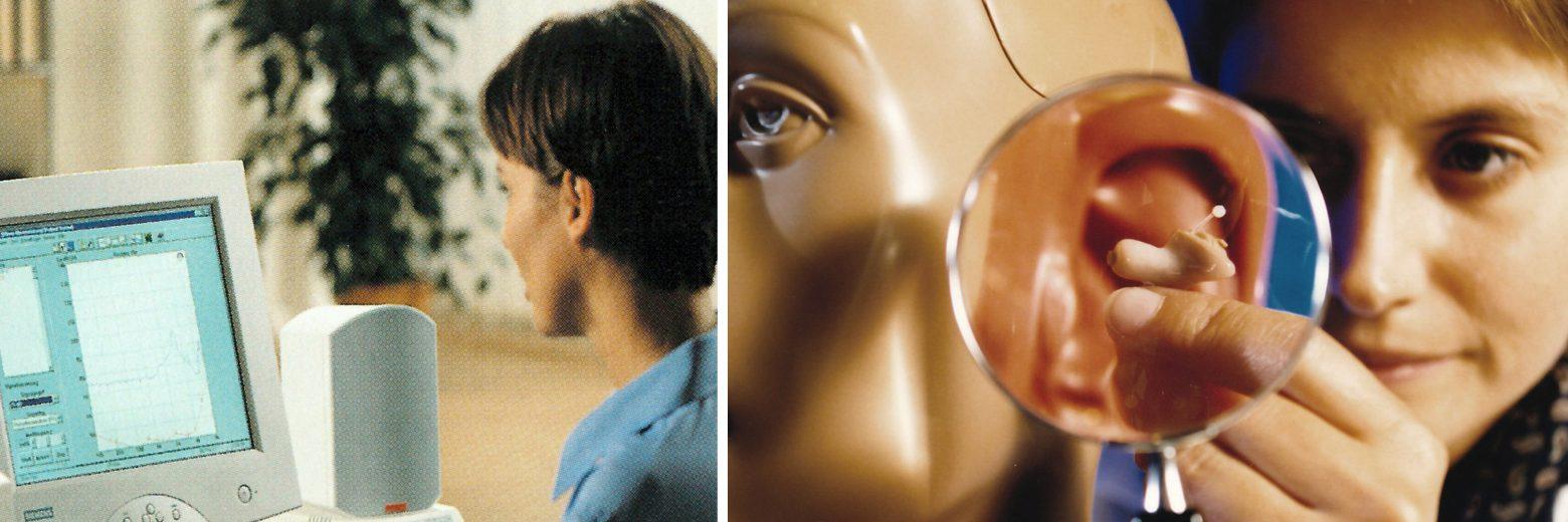 助听器的新科技试戴在1997年展开。完全数位化的双麦克风助听器,Prisma首度问世。